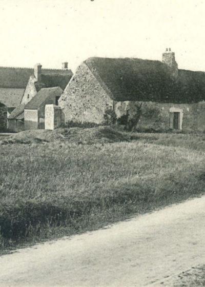 Entrée du village en 1914, route de Cheptainville