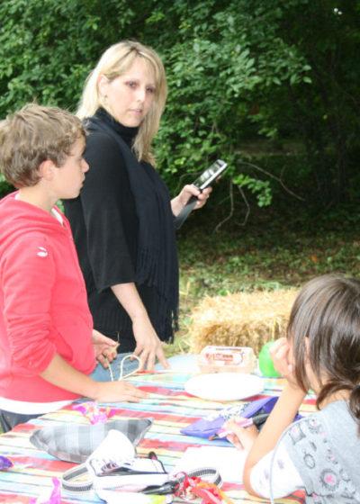 Fête du village, course champêtre organisée par l'association ALEA