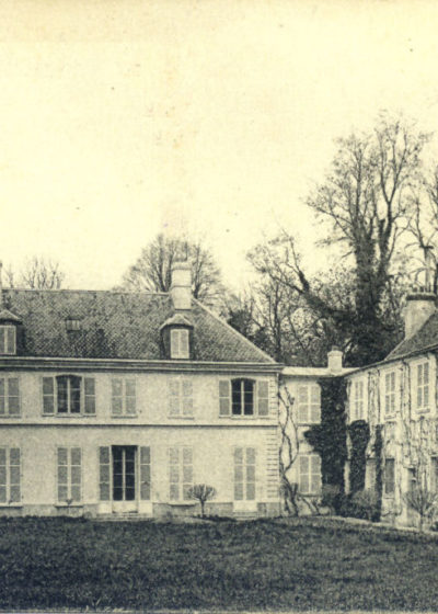 Le château en 1930
