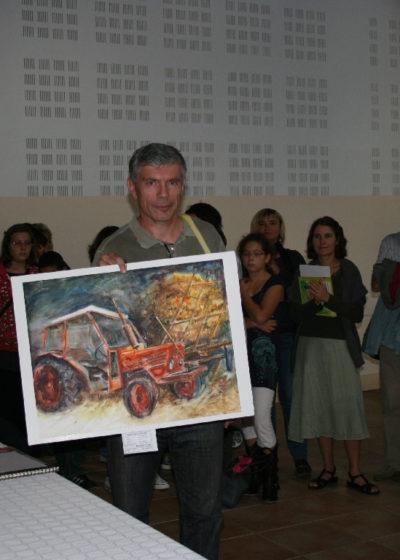 Série Michel-Ange, aquarelle 1er prix