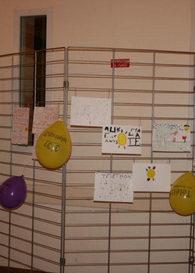 Téléthon 2010: l'expo aux couleurs du Téléthon