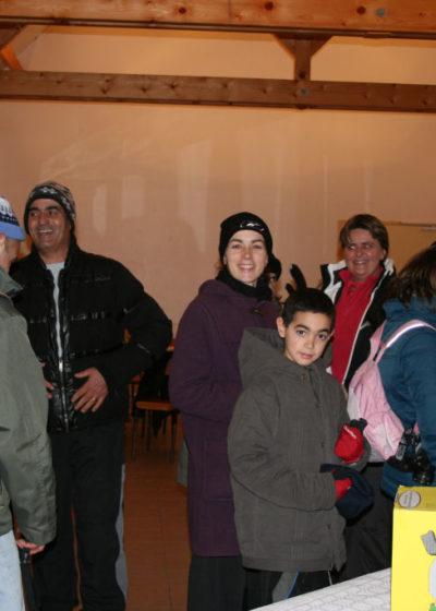 Téléthon 2010: les préparatifs pour la marche nocturne