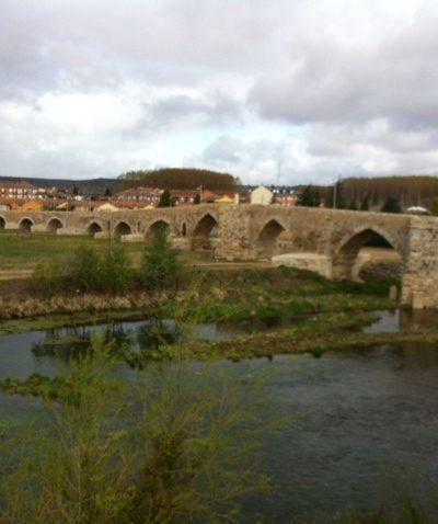Le pont de Hospital de Orbigo - Castille