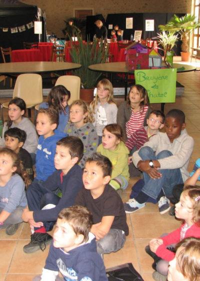 Des élèves très attentifs...