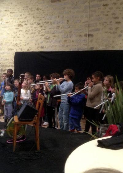 Orchestre avec nos instruments fabriqués