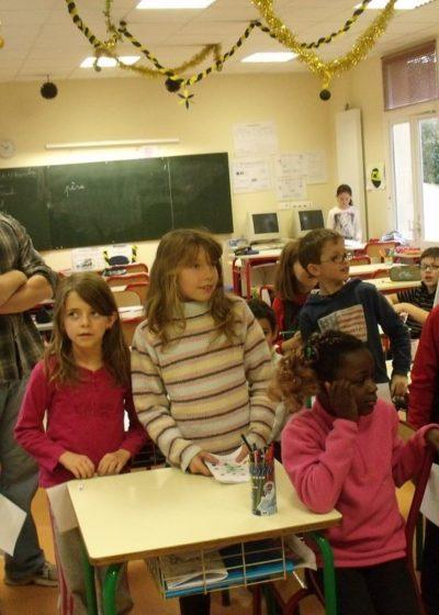 Le Père Noël en classe de CM1 CM2