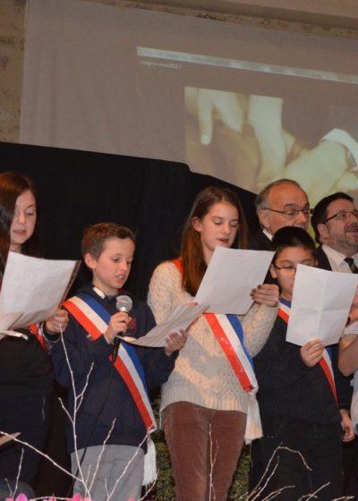 Hommage à Charlie avec le Conseil Municipal des Jeunes