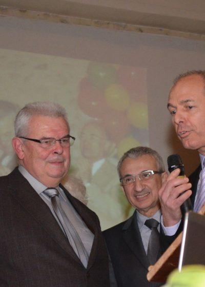 Remise du diplôme de Maire-Adjoint Honoraire à M. Christian CHARPENTIER