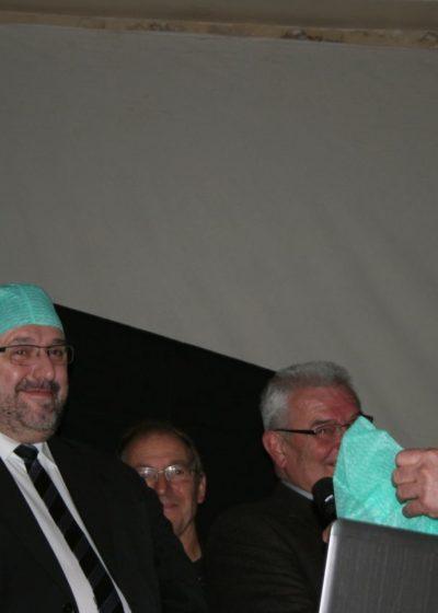 M. Michel POUZOL, député, soutien la REA de l'hôpital d'Arpajon
