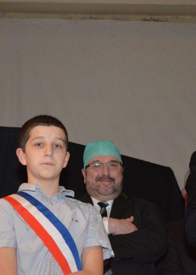 M. Bernard SPROTTI, président de la CCA, soutien la REA de l'hôpital d'Arpajon