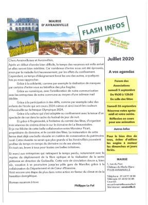Flash Juillet 2020