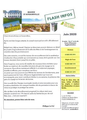 Flash Juin 2020